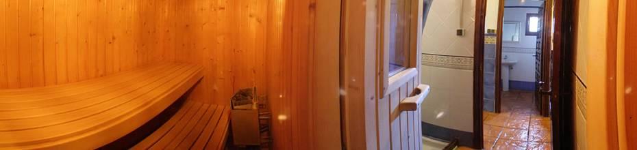 Sauna finlandesa gratuita en la zona de aguas o SPA