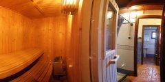 Sauna finlandesa gratis, en la zona SPA. Durante el tiempo de reserva es de uso exclusivo del cliente.