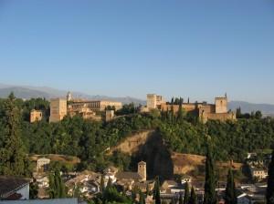 Alhambra Granada desde Albaicin